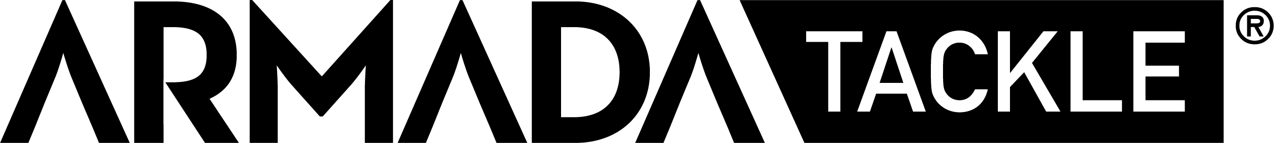 Armada Tackle logo black